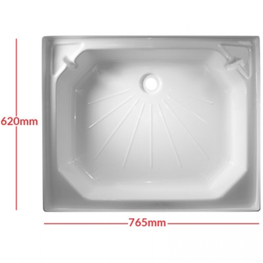 Plastic Shower Tray 24 X 30